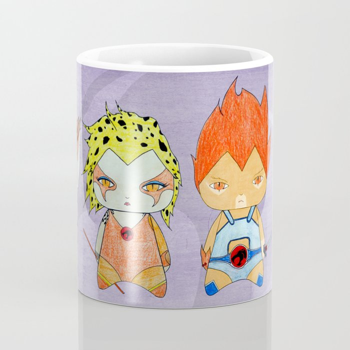 A Boy - A Girl - Thundercats Coffee Mug
