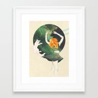cosmic Framed Art Prints featuring Cosmic by Adara Sánchez Anguiano