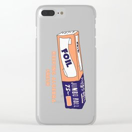 FOIL - Keeping Algebra Fresh Clear iPhone Case