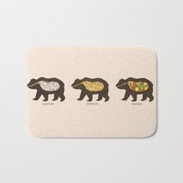 The Eating Habits of Bears Bath Mat