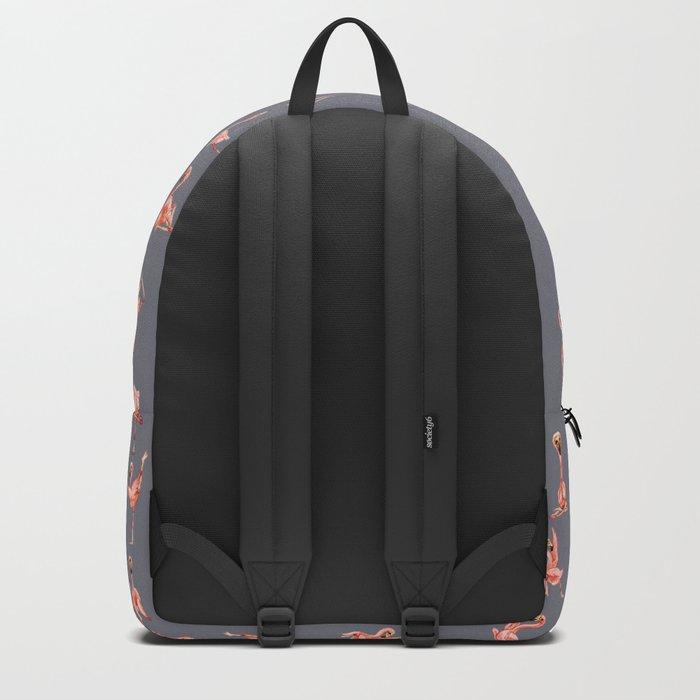Flamingo Yoga Watercolor Backpack