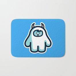 Kawaii Cute Abominable Snowman Yeti Bath Mat