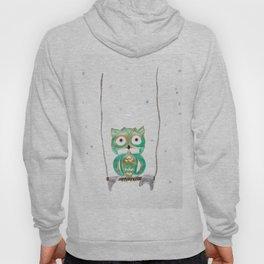 Owl Fun #1 #mint #green #gold #drawing #decor #art #society6 Hoody
