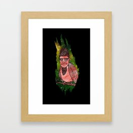 Man Birdson Framed Art Print