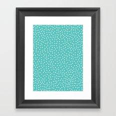 Dots. Framed Art Print