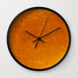 Dinner Roll Wall Clock