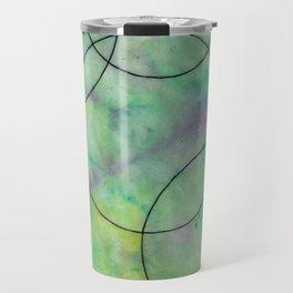 Green Spots Travel Mug