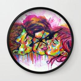 LOVE 3 Wall Clock