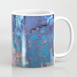 Waterfall. Rustic & crumby paint. Coffee Mug