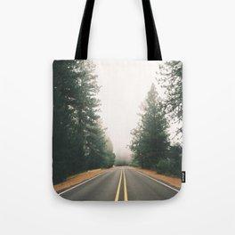 Follow the Road Tote Bag