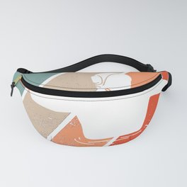 Water Polo Wopo Vintage Waterfootball Polo Ball Fanny Pack