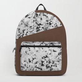 Granite with Emperador Color Backpack