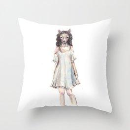 My deerest II Throw Pillow
