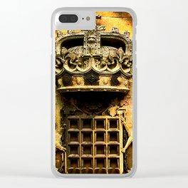 Windsor castle crest Clear iPhone Case