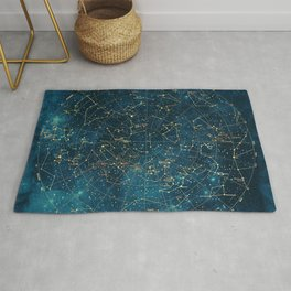Under Constellations Rug