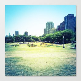 Chicago (outside Lincoln Park Zoo) Canvas Print