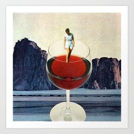 Wino Art Print