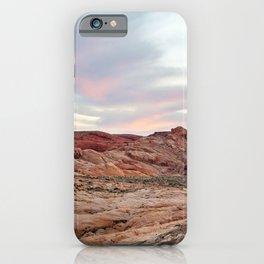 Nevada Mountains iPhone Case