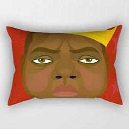 Notorious Big Rectangular Pillow