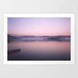 Sunrise Over Arran Art Print