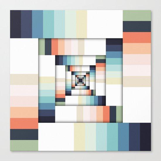 Boxes of Colors Canvas Print