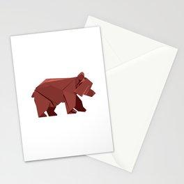 Origami Bear Stationery Cards