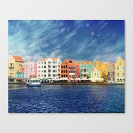 Willemstad, Curaçao Canvas Print