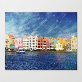 Willemstad, Curaçao Canvas Print