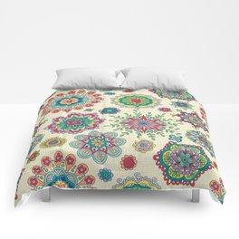 Folky Flora-linen Comforters