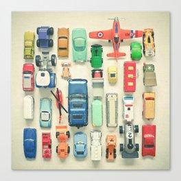 Free Parking Canvas Print