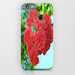 Rose Heart iPhone Case