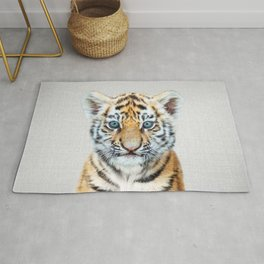 Baby Tiger - Colorful Rug