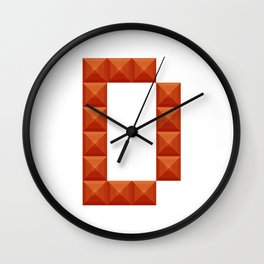 """Letter """"D"""" print in beautiful design Fashion Modern Style Wall Clock"""