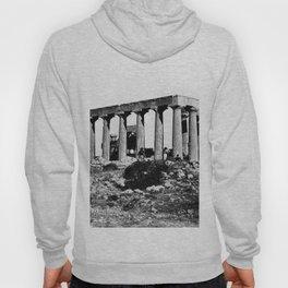 Temple of Egina, Greece. 1850 Hoody