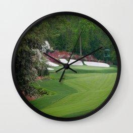 Augusta Amen Corner Golf Wall Clock