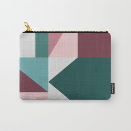 Modern Geometric 62 Carry-All Pouch