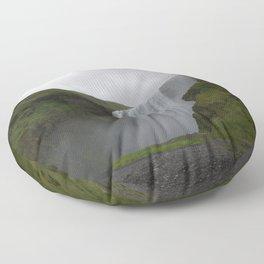 Skógafoss Floor Pillow
