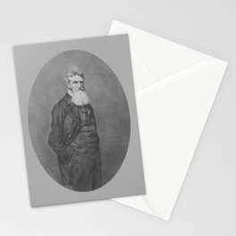 Abolitionist John Brown Stationery Cards