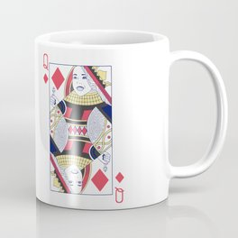 Ariadne Queen of Dreams and Diamonds Coffee Mug