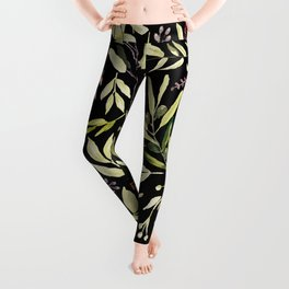Eucalyptus in Autumn Leggings