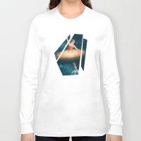 nan lawson Long Sleeve T-shirts featuring Prima Ballerina Assoluta by Paula Belle Flores