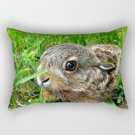 Lovely Bunny Baby Rectangular Pillow