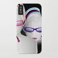 girly iPhone & iPod Cases featuring Girly by Stéphanie Brusick / Art by shop