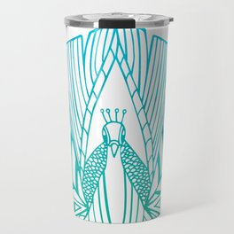 Peacock Blues Travel Mug