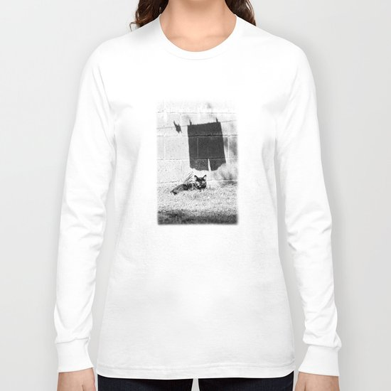 The cat and the pants Long Sleeve T-shirt