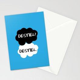 Destiel - TFIOS Stationery Cards