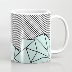 Ab Lines 45 Mint Mug