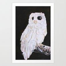 Owl Widow Art Print