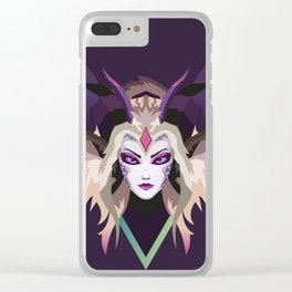 Dragon Sorceress Zyra #2 [League of Legends] Clear iPhone Case