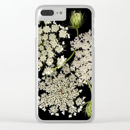 Queen Ann's Lace, Scenography Clear iPhone Case
